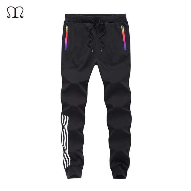Spring Summer Mens Pants Fashion Skinny Sweatpants Mens Joggers Striped Slim Fitted Pants Gyms Clothing Plus Size 5XL Harem Pant 52