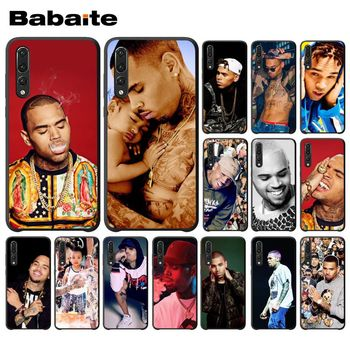 Babaite Chris Brown Breezy Black TPU Silicone Phone Case Cover for Huawei Mate10 Lite P20 Pro P10 Plus Honor 9 10 Mobile Cover image