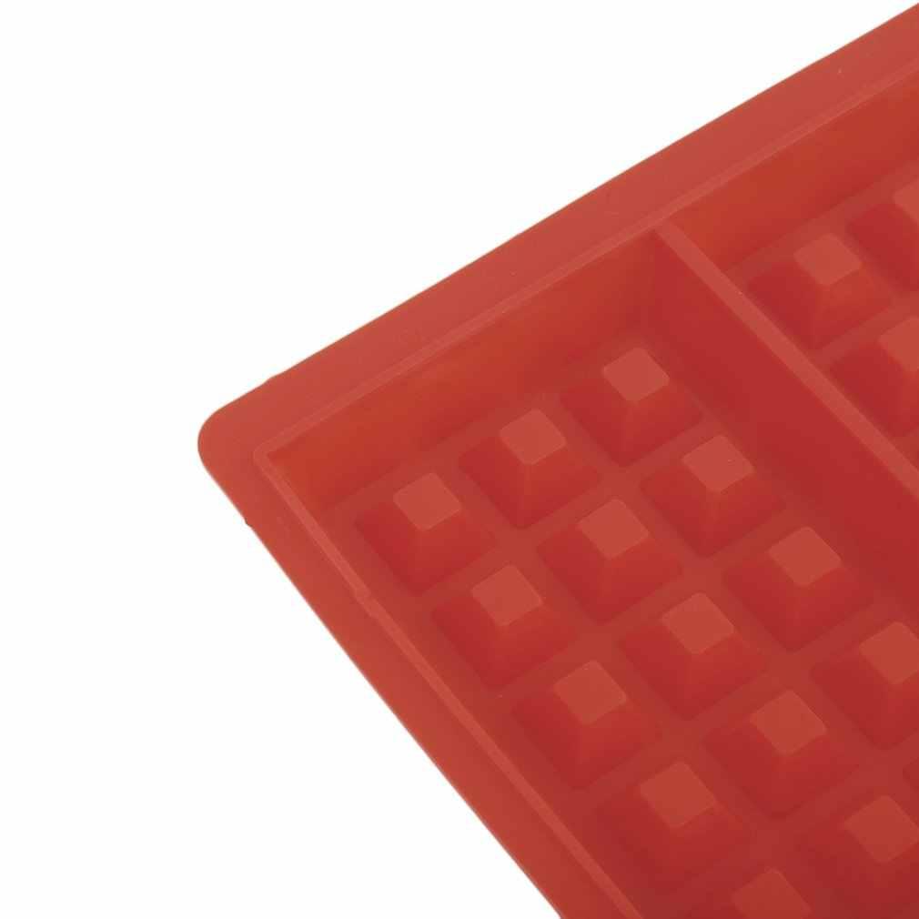 Nieuwe 4-Cavity Wafel Schimmel Vorm Food Grade Plastic, Cake Chocolade Pan, silicone Mold Bakvorm Keuken Bakvormen Decorationg
