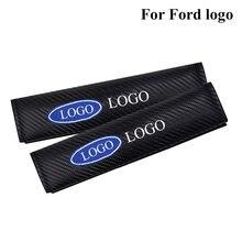 Углеродное волокно Мода Автомобильный Ремень безопасности крышка