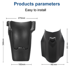 Image 3 - For BMW r1200gs lc r1250gs adv Rear Front Fender Mudguard Adventure Fender Forward Splash Guard For R 1200 GS Motorcycles Parts