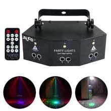 Dmx звуковой стробоскоп par лампа rgb Лазерный комбинированный