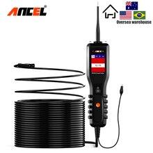 ANCEL PB100 автомобильный аккумулятор тестер 12 В/24 В Силовая цепь зонда тестер электрическая цепь электрическая система батарея Автомобильный сканер
