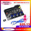BIQU BIGTREETECH SKR MINI E3 V1.2 32 Bit Control Board Integrated TMC2209UART For Ender 3/5 3D Printer Parts TMC2208