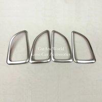 Para hyundai ix35 2010 a 2013 2014 abs chrome interior do carro guarnição maçaneta da porta tigela decoração capa guarnições carro-estilo acessórios