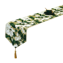 New Chinese Style Table Runner High Quality Luxury Fashion Geometric Floral Pattern Tea Table Cover Dinning Table Home Decor european retro luxury table runner multi spike tassel pendant fashion classic coffee table decor noble jacquard table runner