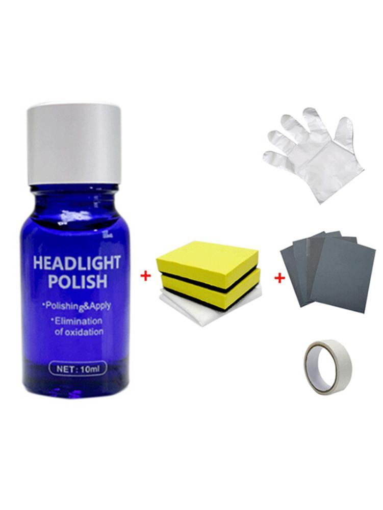 10ML Car Headlight Repair Fluid Headlight Plated Crystal Renovation Repair Tool