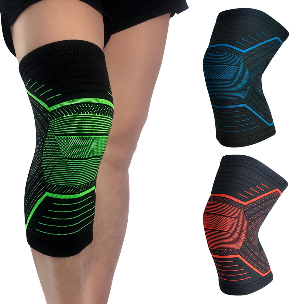 Sports Elastic Knee Protection Support Running Training Compression Sleeve