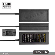 12V5A Neue AC 100 V-240V 60W Converter power Adapter DC12V 5A 2,1mm-2,5mm * 5,0mm DC Stecker Netzteil Adapter