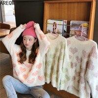 Пушистый свитер с сердечками Цена 1418 руб. ($17.59) | 5 заказов Посмотреть