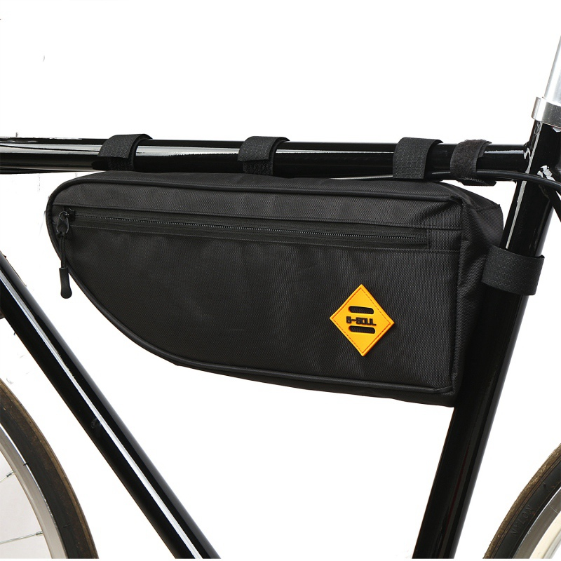 Cycling Bicycle <font><b>Bags</b></font> Top Tube Front Frame <font><b>Bag</b></font> Waterproof MTB Road Triangle Pannier Dirt-resistant <font><b>Bike</b></font> Accessories <font><b>Bags</b></font> Pouch image