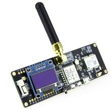 Módulo t-beam ttgo, esp32 433/868/915mhz sem fio bluetooth esp 32 gps NEO-6M sma bateria de carregador com oled 32 18650
