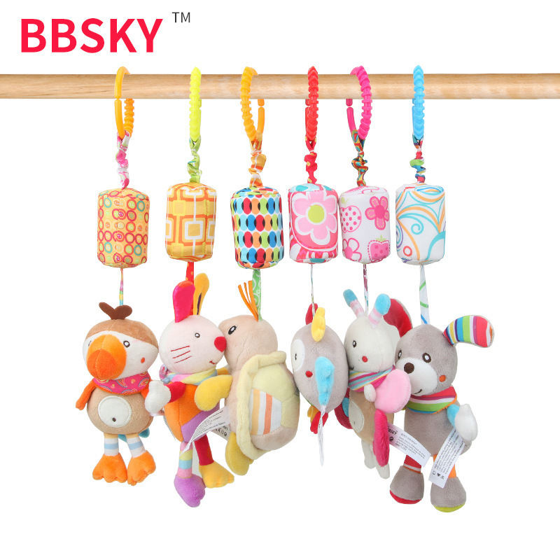 Baby Stroller Car Hanging Bed Bell Infant Wind Chime Baby Toy AliExpress