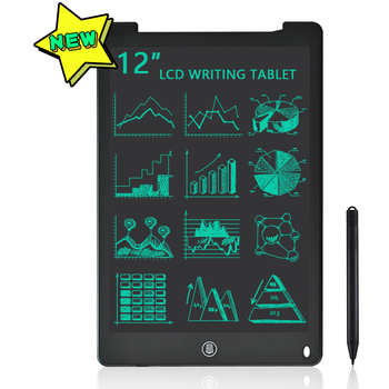 12 Inch LCD Writing Tablet Electronic Drawing Doodle Board Digital Board Handwriting Tablet Gift for Kids and Adult Protect Eyes