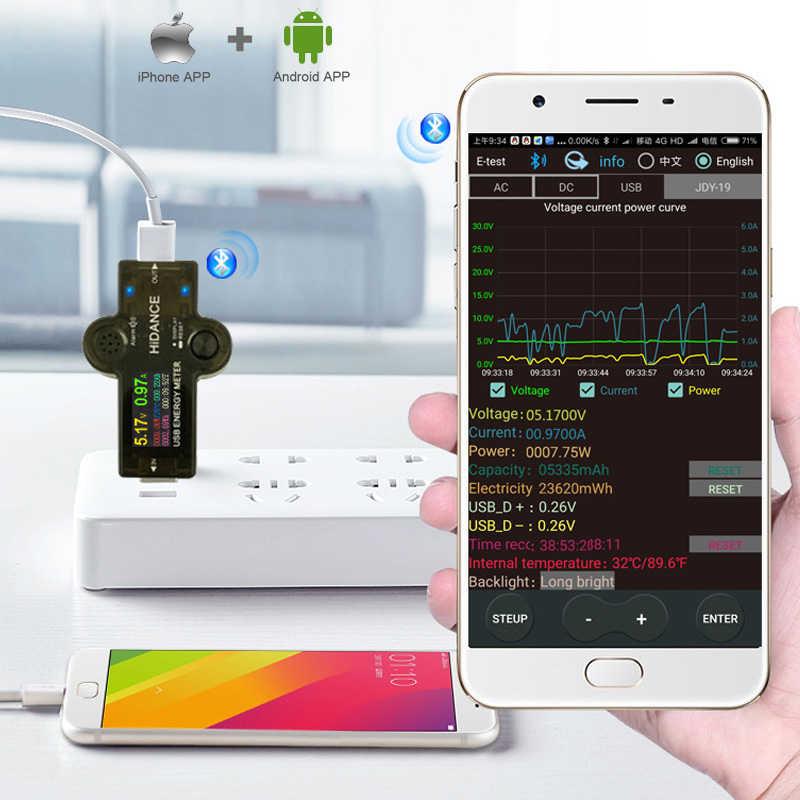 Testeur USB 3.0 TFT 13in1 USB APP voltmètre numérique cc ampèremètre voltimetro chargeur détecteur de tension voltmètre électrique médecin