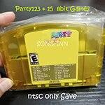 Süper 18 in 1 parti 123 + 15 8 bit oyun 64 bit video oyunu konsolu abd NTSC sürümü