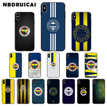 NBDRUICAI team Fenerbahce sk logo TPU Soft Silicone Phone Case Cover for iPhone 11 pro XS MAX 8 7 6 6S Plus X 5 5S SE XR case цена 2017