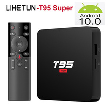 T95 Super Android 10.0 TV BOX RAM 2G ROM 16GB Allwinner H3 Q