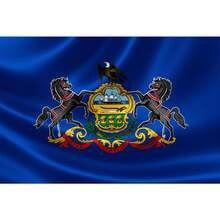Государственный флаг pennsyivania pa state flag 3x5 футов баннер