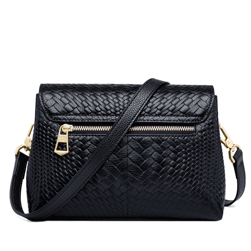 ZOOLER High Quality Genuine Leather Woman Bag Luxury Designer Women Messenger Shoulder Bags Ladies Crossbody Clutch Bag Hot#6152