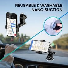 Вращающийся на 360 градусов Автомобильный держатель для телефона гравитационная присоска Автомобильный держатель для телефона для iPhone 11 X XS Max для Xiaomi поддержка смартфона Voiture