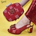 Amazing lady red pum...