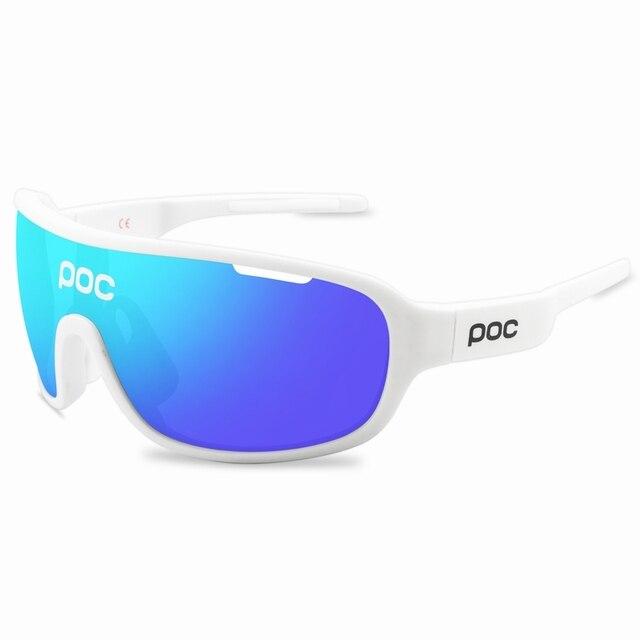 4 lente poc ciclismo óculos de sol ao ar livre óculos de ciclismo 5