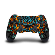 PS4 Slim Controller PS4 Controller Skin Sticker Vinyl Decal Sticker for Sony PlayStation 4 DualShock 4 Wireless Controller