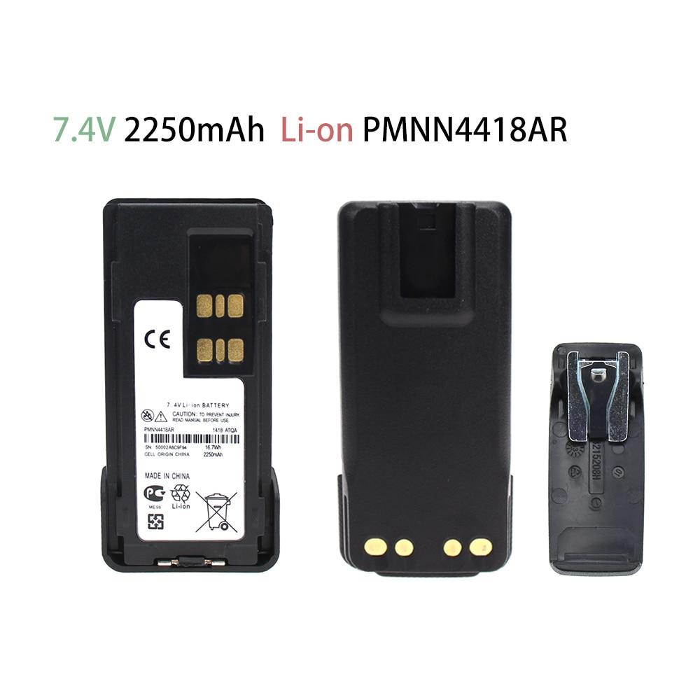 2250mAh PMNN4418AR Battery For Motorola P6600 P6620 XPR3000E XPR3300e XPR3500e DP2000e Series DP2400 DP2600 DEP 550e Battery