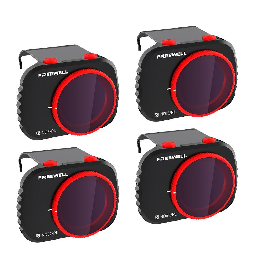 Freewell Bright Day-серия 4K-набор из 4 фильтров, совместимых с дроном Mavic Mini/Mini 2