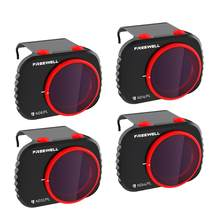 Freewell dia brilhante-4k series-4 filtros pacote compatível com mavic mini/mini 2 zangão