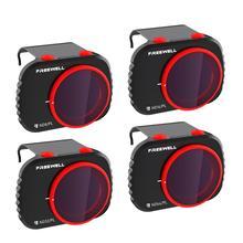 Freewell jour lumineux série 4K Pack de 4 filtres compatibles avec le Drone Mavic Mini/Mini 2