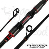 FAVORITE PHANTOM RIGGED Rod PRR-732ML X-CROSS Carbon Spinning Fishing Rod ML Power Fast Action Profession Solid Seabass Rod