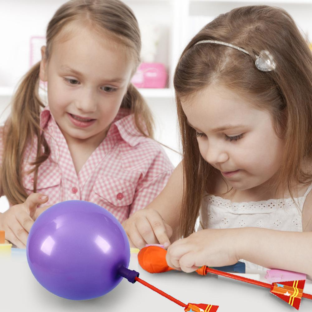 Handmade Balloon Toys Cultivate Hands-on And Thinking Skills Professionally DIY Teaching Aids Science Experiment For Children