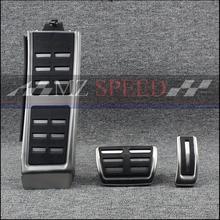цена на Gas Brake Foot Pedal Set Rest Fuel Pedals For AUDI A4 S4 RS4 A5 S5 RS5 8T A6 4G S6 (C7) Q5 S5 RS5 A7 S7 SQ5 8R LHD 2009 +