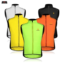 WOSAWE Reflective Rider Vest Motorcycle Safty Waistcoat Summer Windproof Jacket For Running Cycling Sports Clothing