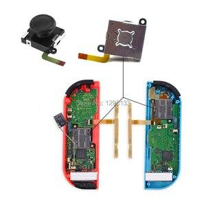 Image 3 - 3D analogowy kciuk kij na przełącznik do nintendo dla Joy Con Joystick czapki wymiana części naprawa zestaw z modem dla JoyCon przełącznik sterowanie