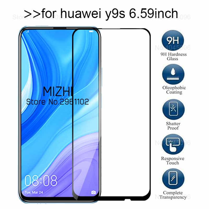 Protective Glass For Huawei Y9s 2019 Tempered Glass On Huwei Y 9s Y9 S Stk-l21 Stk-l22 Stk-lx3 Screen Protector Film 6.59