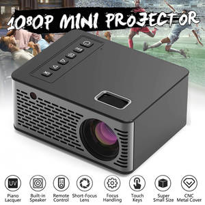 Mini Projector Movie Home Cinema HDMI Via Android Support 4K Videos 1280--720p