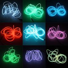 5 м/3 м/2 м/1 м el светящийся провод Водонепроницаемый Светодиодные