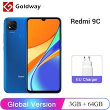 Versão global xiaomi redmi 9c 9 c 3gb 64gb smartphone helio g35 octa núcleo 13mp câmeras traseiras 6.53