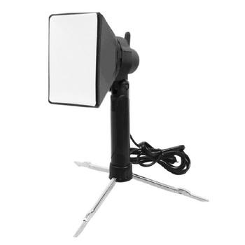 5800K profesjonalny aparat fotograficzny oświetlenie led do studia filmowego lampa światła oświetlenie fotograficzne Mini przenośny składany Collaspible + Softbox tanie i dobre opinie Meking Lighting with softbox