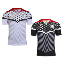 Camiseta negra de Israel para Survetement, Maillot de pie, camiseta de fútbol, chándal, camisetas para correr