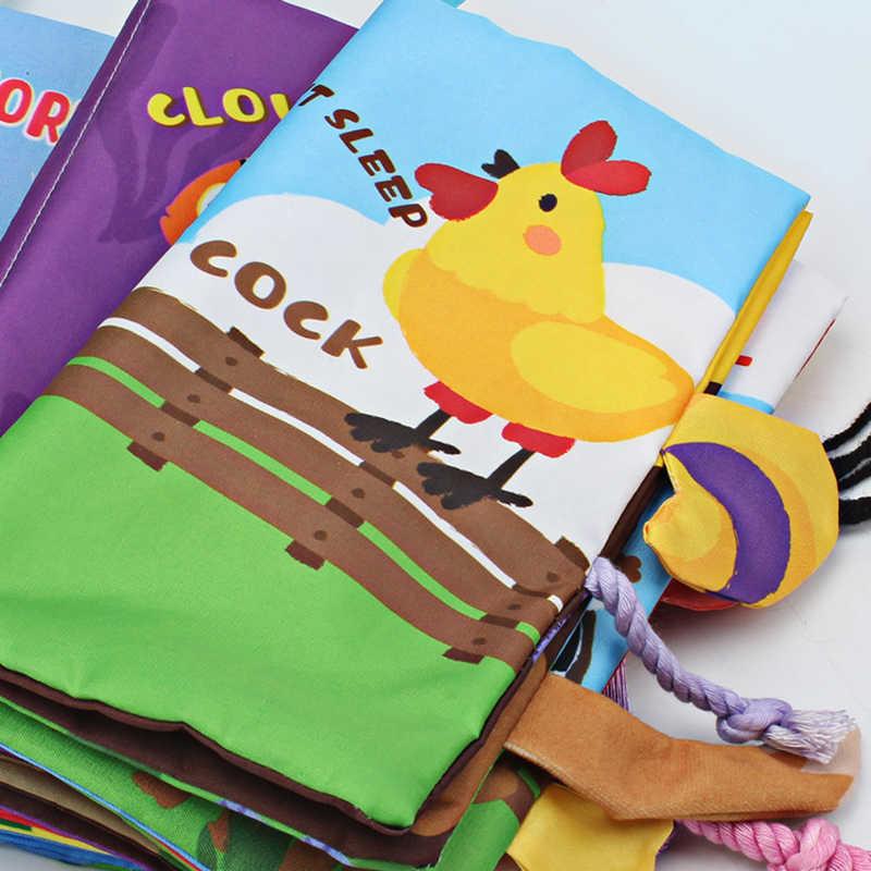 fluffy tails Malloom/® colas animales libro de tela beb/é de juguete Desarrollo Libros Aprendizaje y Educaci/ón libros