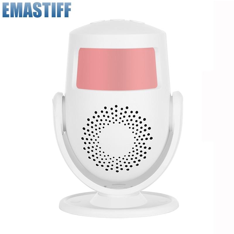 Tuya WIFI PIR Motion Sensor/Welcome doorbell alarm Wireless Passive motion Detector Security Burglar Alarm Sensor Smart Home 4