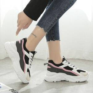 Image 4 - Scarpe da corsa in PU per Sneakers Donna Scarpe Donna traspirante feminino Zapatillas Mujer femme 2019 Deportivas Zapatos