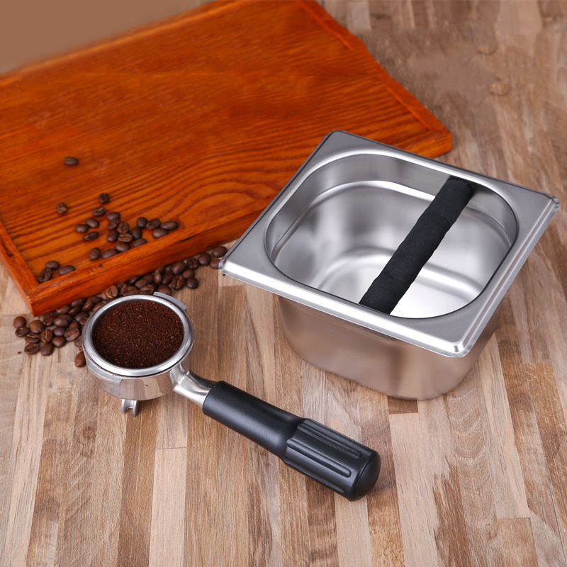 Espresso Coffee Container Bin Holders Boxe Case Stainless Steel Kitchen Storage|Coffee Filters| |  - title=