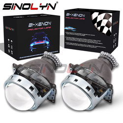 Sinolyn Bixenon Lens 3.0 D2S Hid Projector Koito Q5 Koplamp Lenzen Full Metal Automobiles Kit H4 Autolichten Accessoires Tuning