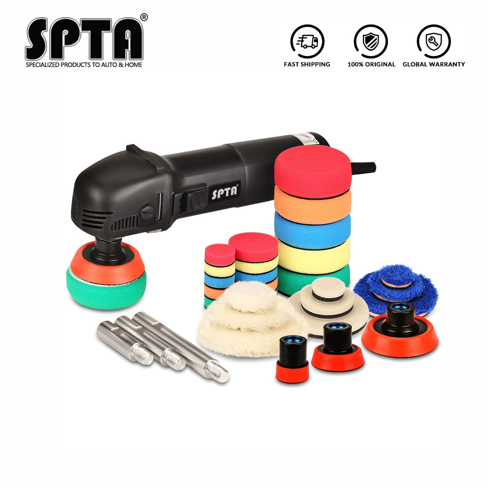 SPTA Buffing /& Polishing Pads Mini Machine Rotary Polisher RO Auto Detailing Mix