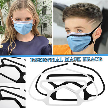 1pc Essential Mask Brace Secure Your Loose-fitting Mask Silicone Prevent Fogging Ear Savers Headband Face Shield For Adults Hot image